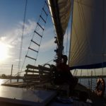 "Set Sail Out of St. Clair on the New Sailboat ""Jakab"""