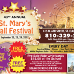 St. Mary's 43rd Annual Fall Festival