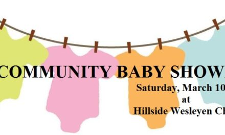 Community Baby Shower providing information and gifts to expectant families