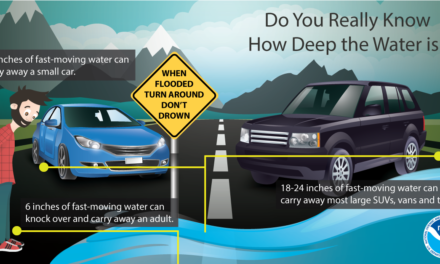 Here's what you need to know about flooded roads
