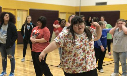 Port Huron X-Treme joins Woodland Developmental Center to create one unified dance team