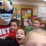 The Jet Man Rewards Roosevelt Students with Pizza!