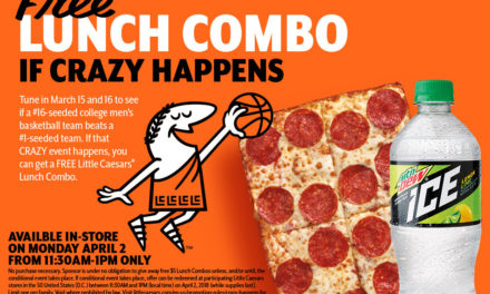 Free Pizza for America in April