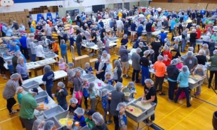 500 Volunteers will Package 100,00 meals April 21st
