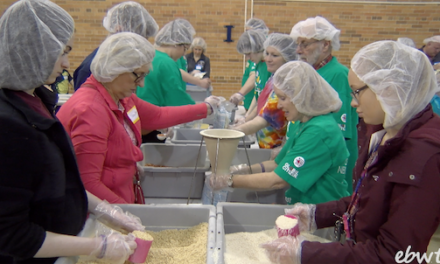 More than 600 Volunteers Feed Over 100,000 People Across the Globe
