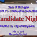 81st District – House of Representatives – Candidate Night