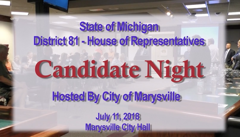 3dc6ee4c07d 81st District - House of Representatives - Candidate Night
