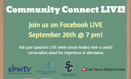 Community Connect LIVE September 26th Discussing School Attendance