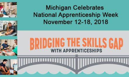 Michigan Celebrates National Apprenticeship Week Nov. 12-18