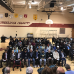 Young Students Join Veterans in Celebration Assembly