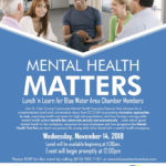 CMH Discusses How Mental Health Matters with Blue Water Chamber