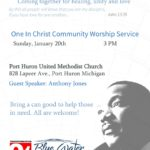 "MLK ""One in Christ"" Community Service"