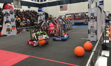 Three Blue Water Area Robotics Teams head to World Championships