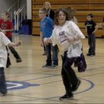 Crull Elementary 5th Graders Participate in Fun Fitness