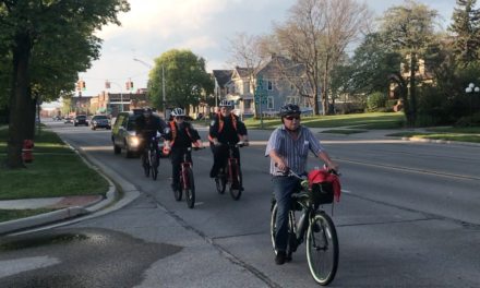 Bicyclists Join in On the Annual Ride of Silence Event