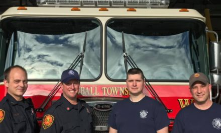 Kimball Township Fire Department Promote Four Firemen