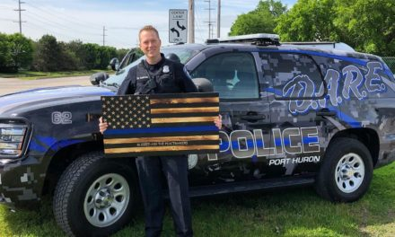 PHPD Shows Off New D.A.R.E Vehicle