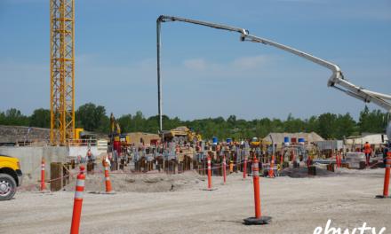 DTE Blue Water Energy Center Construction Underway