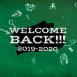 Welcome Back to School 2019-2020
