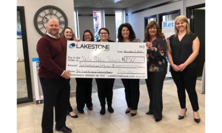 Lakestone Bank Grand Reopening in Yale