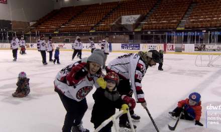 Kids Take The Ice with Their Port Huron Prowlers Idols